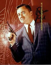 Robert Vaughn The Man from UNCLE Napoleon Solo C  Autograph UACC RD96
