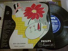 """LP 10"""" 25 CM RAY COLIGNON ORGANO HAMMOND DANCE WITH ME EX+"""