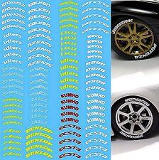 Reifen Beschriftung Tires Labeling #4 - 1:18 Decal Abziehbilder