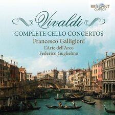 Vivaldi / Galligioni - Complete Cello Concertos [New CD]