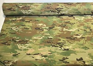 """Multicam Ripstop Ny/Co Fabric Uniform Military Camouflage By The Yard 66"""" Wide"""
