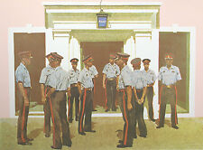 "Stephen F. Verona ""Bahamian Police"" Signed & Numbered Lithograph Artwork OBO"