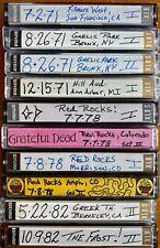Grateful Dead Tapes - Live June '71, '78, '82
