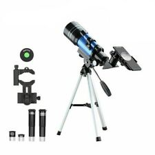 HD Astronomical Telescope With Tripod Phone Adapter Monocular Moon Bird Watching