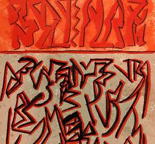 Riccardo LICATA  1979 serigrafia originale datata numerata firmata