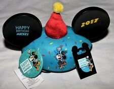 Disney Happy Birthday Mickey  Mouse Ear/Hat, Trading Pin , Button- 2017