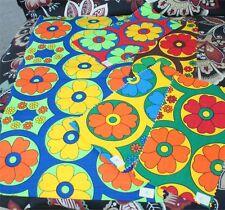 KENYA  African Textile Fabric VTG Sample Squares ELEPHANTS  84 PCS