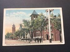 Second Street, North From Sassafras Postcard Millville, New Jersey Postmark 1919
