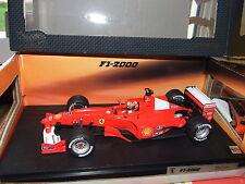 FERRARI F1 2000 SCHUMACHER 2000  HOTWHEELS 1/18