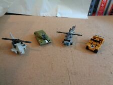 Lot of 4 Nice  Vintage G-1 Transformers  Loose Incomplete