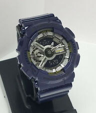 G SHOCK Small dial Analog Digital GMAS110MC-2 Metallic Blue GMAS110 GMAS110MC