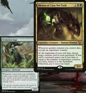 Meren of Clan Nel Toth INFECT Commander EDH Deck Magic Cards MTG Ready-to-Play