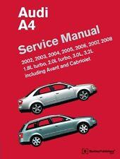 AUDI A4 2002-8 WORKSHOP MANUAL