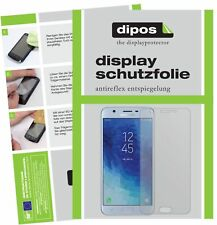 2x Samsung Galaxy J7 Star protector de pantalla protectores mate Dipos