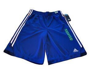 Adidas Shorts Boys Size XL Basketball Pull On Athletic Shorts Blue New 18/20 Boy