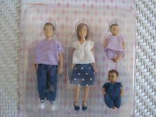 Puppenstube Biegepuppen Familie Puppenfamilie *NEU* 4 Stück Lundby