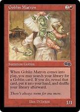 GOBLIN MATRON Urza's Saga MTG Red Creature — Goblin Com