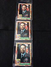 Lot of 3 General Colin Powell #2: 1991 Topps Desert Storm Cards: Pack Pulled!