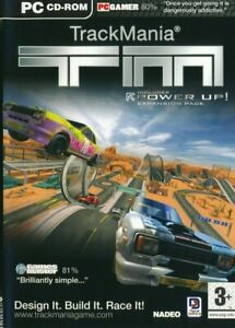 Trackmania & Power Up Expansion Pack PC CD-ROM Racing Game - Brand New & Sealed
