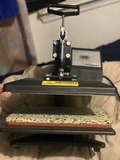 10x12 Digital Sublimation Heat Press Machine Transfer Swing Away 360 For T Shirt
