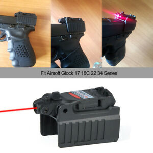 Tactical Red Dot laser Sight Scope for Airsoft KWA KSC Glock 17 22 23 25 27 28 4