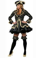 Costume Pirate Buccaneer Size M Lingerie Sexy Costumes Carnival Halloween 8250