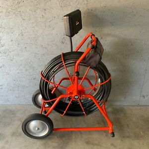 General Pipe Cleaners Gen-Eye Pod Video Pipe Inspection System 200' Reel