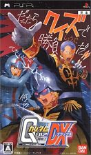 Used PSP  Quiz Mobile Suit Gundam Ton Senshi DX SONY PLAYSTATION JAPAN IMPORT