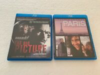 Romain Duris 2 Blu-Ray LOT:  Paris and The Big Picture French Films