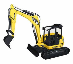 NZG 917 1:50 JCB 8086 CTS Midi Excavator