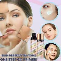 Primer Repair Pre milk Tri-Color Isolation Cream Makeup Base Concealer