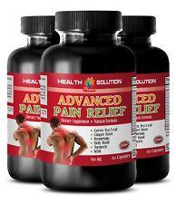 Energy boost pills - ADVANCED PAIN RELIEF - 3 Bottles- holy basil pills