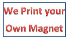 PERSONALIZED Your Own Fridge Magnet - Your Picture On Elastic Magnet