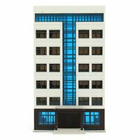 N Scale 1/144 Apartment Building City Building Models GUNDAM Scenary Layout Toys