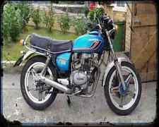 Honda Cb 250T Dream 1 A4 Metal Sign Motorbike Vintage Aged
