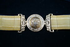 Vintage Canadian Ontario Police Service Dress Belt & Buckle