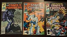 Vintage Transformers Comic Book Lot Of 29