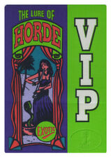 Wilco 1995 Backstage Pass H.O.R.D.E. Black Crowes Dave Matthews Band Sheryl Crow