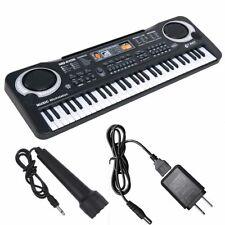 61 Keys Music Electronic Keyboard Children Electric Piano Organ W/ Mic & Adapter