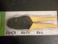 Coax Rf Ratchet Crimping Tool For Rg 58, 59, 6 Philmore Ws36