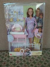 Barbie vintage Midge newborn baby mom set NIB new box 1990s NRFB pet smoke free