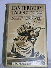 Canterbury Tales by Chaucer-Illustrated by Rockwell Kent 1934