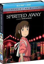 SPIRITED AWAY(BLU-RAY+DVD)W/SLIPCOVER NEW UNOPENED