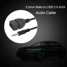 3.5mm Male to USB Female Car AUX Auxiliary Stereo Audio Adapter Cable Converter