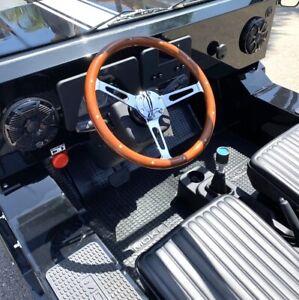 Wood Steering Wheel | Moke America | LSV