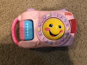Fisher Price Laugh and Learn Learning Musical Camera (Tested & Working!)