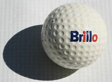 Vintage Brillo Pads Logo Golf Ball Old Cleaning Janitor Dish Washer Kitchen Club