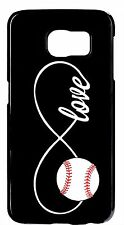 Infinity Baseball Love Forever Hard Rubber Case Cover For Samsung Galaxy Note 5