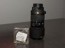 Nikon ED AF Micro Nikkor 70-180mm1:4.5-1:5.6 D Objektiv mit 62mm 5T Nahaufnahme Filter