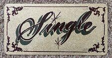 """Multicolor 6X12"""" Single Sign"""